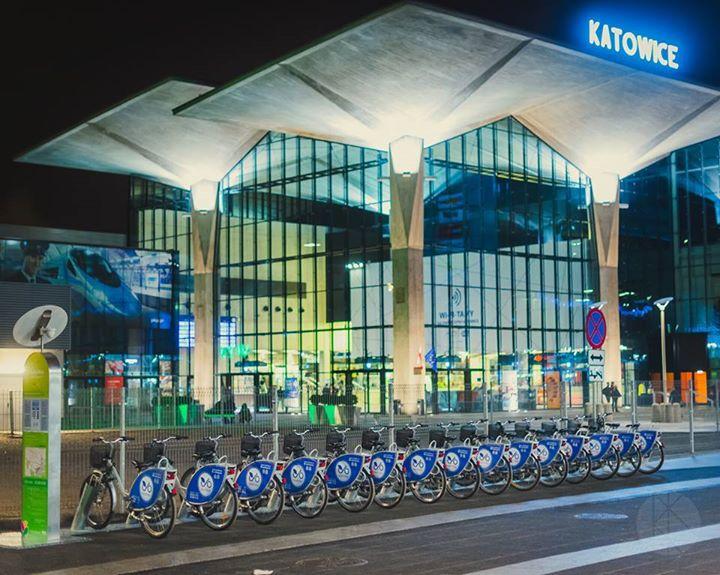 Rekordowe zainteresowanie wypożyczalniami rowerów miejskich City by bike w Katowicach