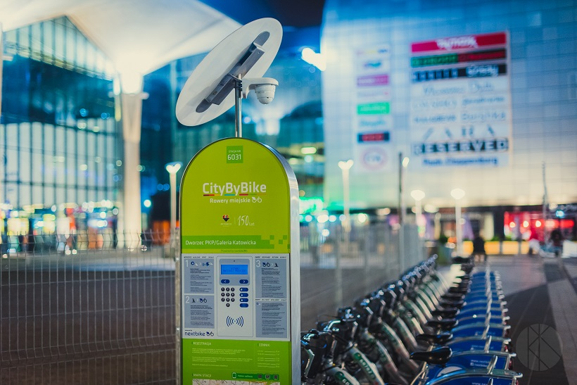 """2,6 tysiąca użytkowników i 7,5 tysiąca wynajmów – sezon śląskich rowerów miejskich """"City by bike"""" dobiegł końca!"""