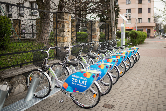 Coraz więcej rowerów miejskich na Śląsku