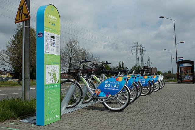 5 nowych stacji wypożyczalni rowerów miejskich w Katowicach!
