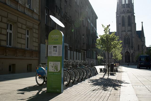 Katowicki rower miejski City by bike bije kolejne rekordy