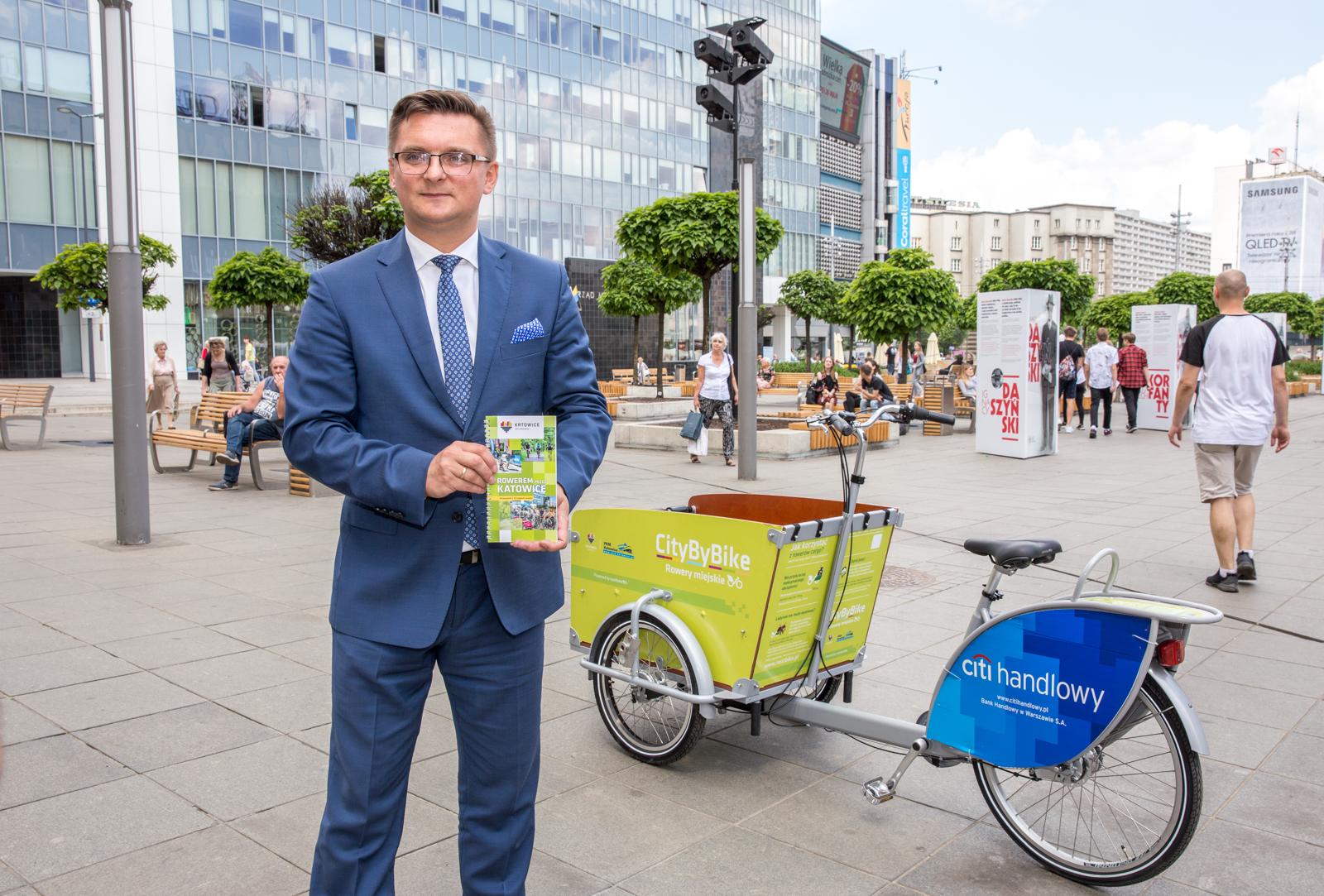 12 nowych stacji roweru miejskiego w Katowicach