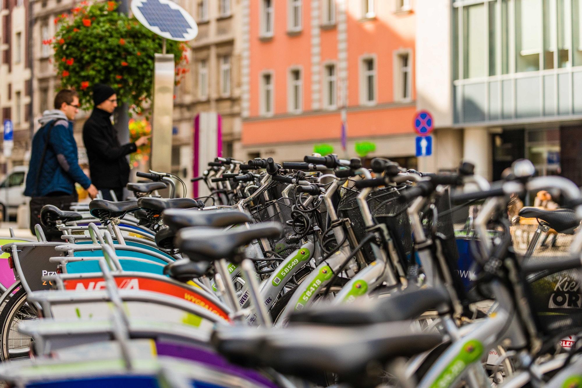 Rekordowy sezon rowerów miejskich w Katowicach